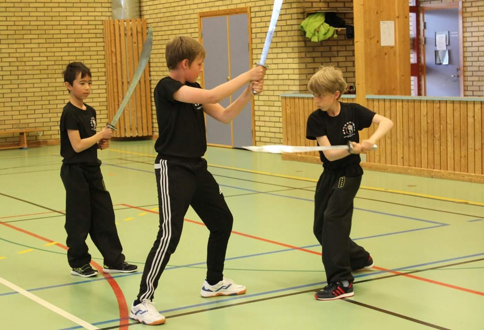 Helgläger, kung fu, kampsport, träning, skövde, bågsvärd, barnträning