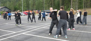 O Shin Chuen Kung Fu form & application