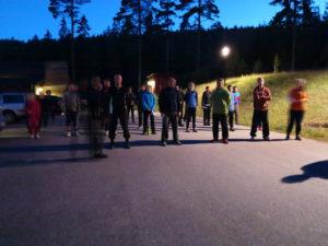Läger 2016 midnattsträning